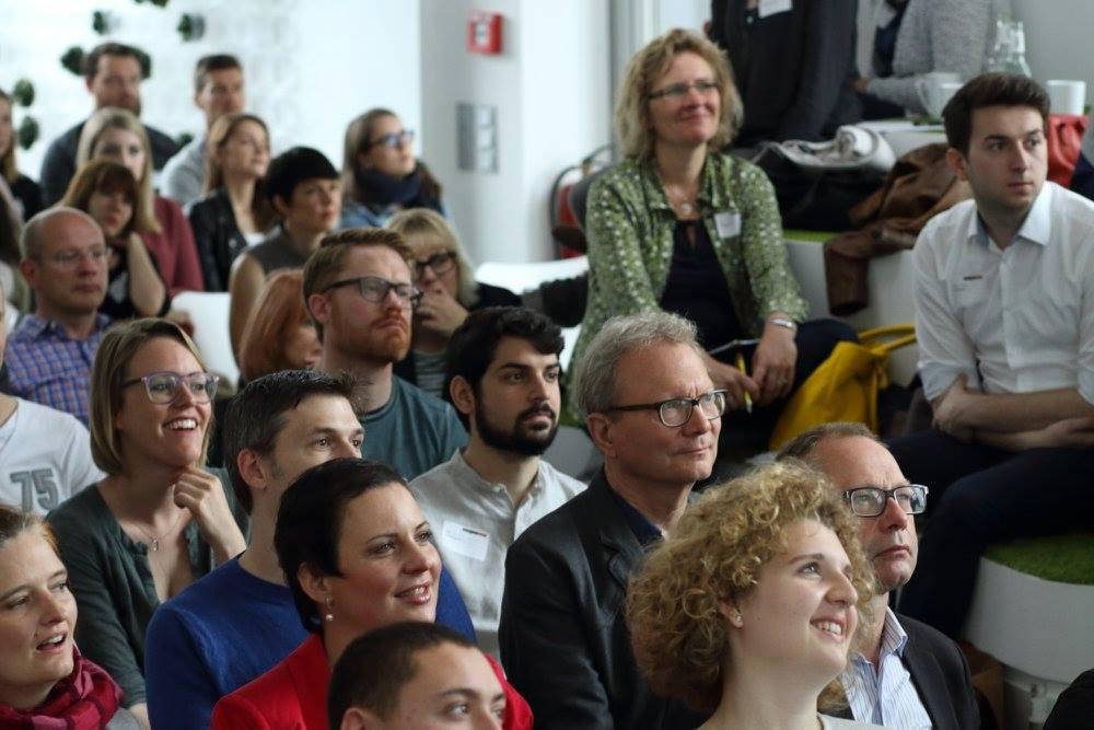 NEU Ideenkultur bei den Creative Mornings Düsseldorf, Blick auf die Zuschauer