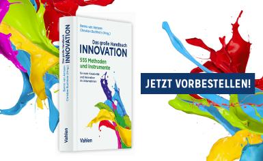 Jetzt NEU: Großes Handbuch der Innovation