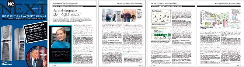 ke NEXT Interview mit Sabine Rings zu Ideen und Innovation Bildstrecke