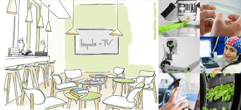 iLounge für Ideen und Inspiration in der Kaffeepause