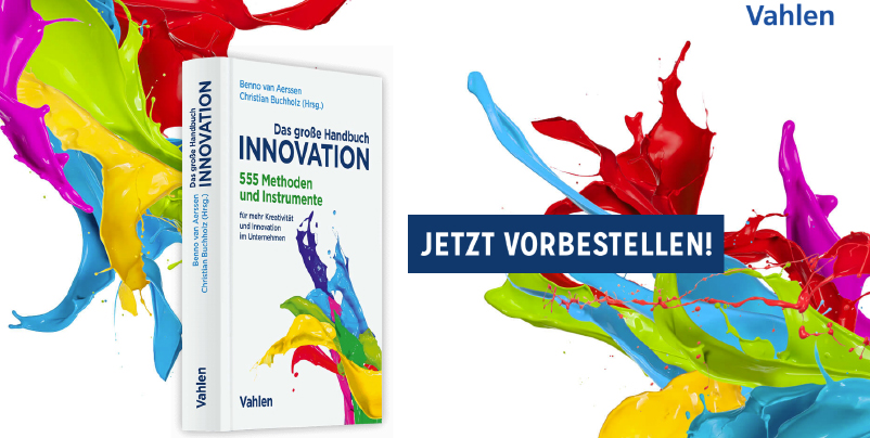 Ideenkultur jetzt auch gedruckt: Das große Handbuch Innovation