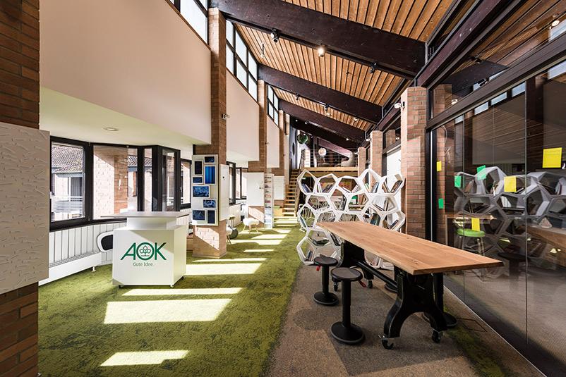 AOK Innovation Space für mehr Ideenkultur und Innovation