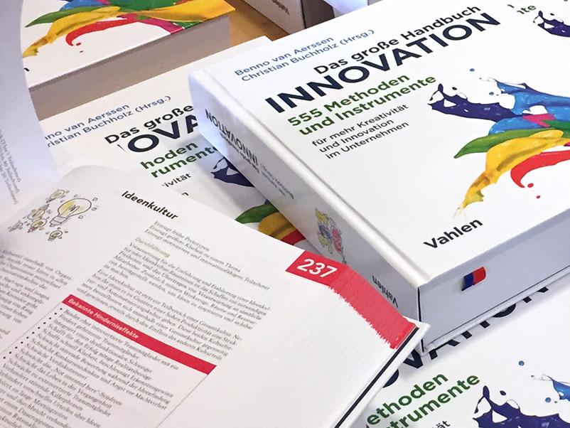 Das große Handbuch Innovation: Ideenkultur is ein wichtiger Baustein für Kreativität und Unternehmenserfolg