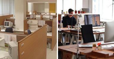 Wie die Arbeitsumgebung die Kreativität fördert