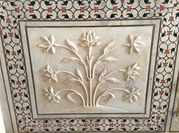 Taj Mahal Detail Haptik Ideenentwicklung Ideen Innovation Kreativität