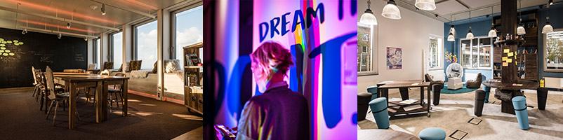 Kreativraum Creative Space Innovation Space Workshopraum Raum für Veränderung Beispiele