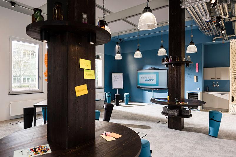 regio iT Aachen Düren Geistesblitz Beispiel Innovation Space Kreativraum Creative Space Raum für Veränderung Workshopraum