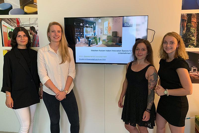 Ruhr-Universität Bochum Studie zum Nutzen von Innovation Spaces Präsentation