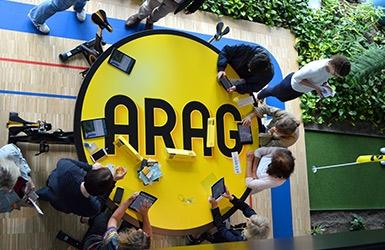 """ARAG: Eröffnung von """"Studio17"""""""