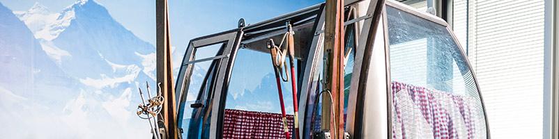 ARAG Versicherung Düsseldorf Health Based Working Ideenkultur moderne Arbeitswelt Kreativität Kommunikation Unternehmenskultur gesund arbeiten Skigondel Bergwelt