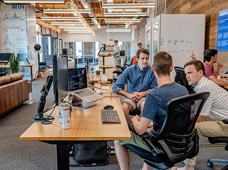 Arbeitswelt Trends 2020 moderne Büros Team Space agile Arbeitsformen Ideenkultur Innovationskultur