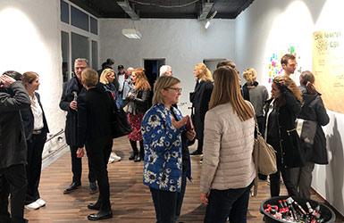 New Work Lab NEU Creative Space Baustellenparty Kreativraum Grundsteinlegung Design Thinking Düsseldorf Neue Arbeitswelten