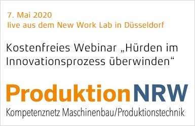 """Einladung zum Webinar """"Widerstände im Innovationsprozess"""""""