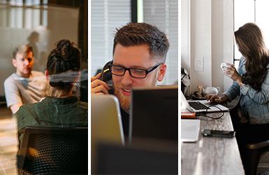 Persönlichkeitstest Bürotyp Office New Work Quiz Nutzertyp neue Arbeitswelt modernes Büro Teamwork Schreibtisch mobile Arbeit Activity Based Working
