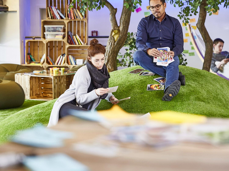 Zentis Fruchtcampus Aachen - New Work - Neue Arbeitswelt - Innovationskultur - Ideenkultur - Creative Space - Projekträume