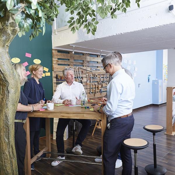 Event New Work Lab Düsseldorf Neue Arbeitswelt Büros Team Office Prinzip Veranstaltung Home Office Regeln