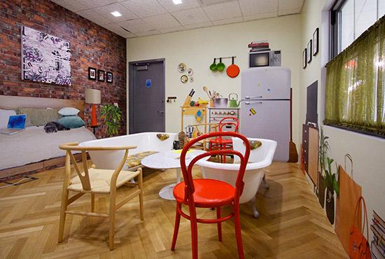 Google Büro Office New York Besprechungsraum Meetingraum New Work moderne Arbeitswelt Ideenkultur Innovationkultur