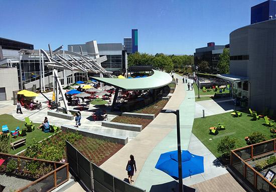Googleplex Impression Mountain View Alphabet Zentrale Google Campus New Work moderne Arbeitswelt Ideenkultur Innovationkultur
